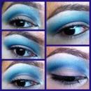 Cut-crease blue