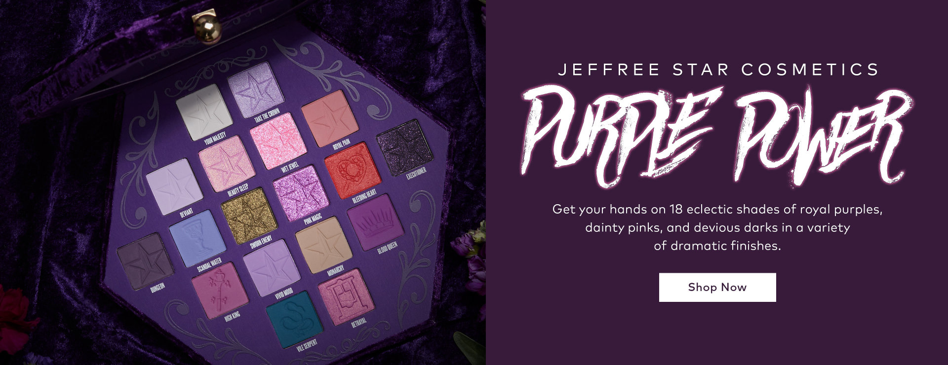 Shop Jeffree Star Cosmetics' Blood Lust Palette on Beautylish.com