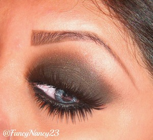 Classic Smokey Eye paired with 2 types of eyelashes. Anyone can wear this look. Wearing my favorite mink lashes by Velour Lashes in Lash in the City. Follow me on Instagram @FancyNancy23