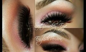 Soft Smokey Eye ( kinda English Version =D  )