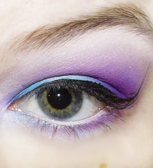 - NYX JEP Milk - Sugarpill Sweetheart palette - Sugarpill Burning Heart Palette - NYX Studio Black liquid eyeliner
