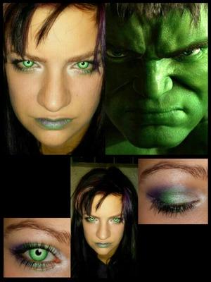 Superhero Makeup Week Tues 10/8