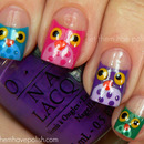 Cris of LTHP Infamous Owl Nails!