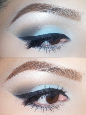 Baby Blue Look ;) tutorial on my channel , check it out @ lethalbeauty_xo