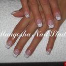 Polka Dots French Nails
