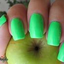 Neon apple