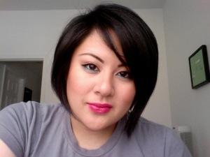 MAC Pink Pigeon lipstick ;)
