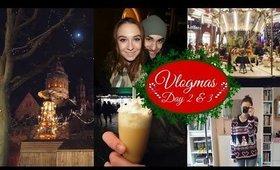 Vlogmas Day 2 & 3 Christmas Market | Vlog | MakeupByMarie
