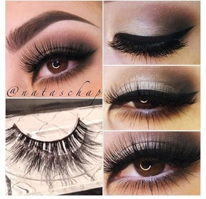 She's wearing soft, fluttery, weightless mink lashes in SceneQueen  Minxlash.com