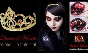 Queen of Hearts Halloween Makeup Tutorial