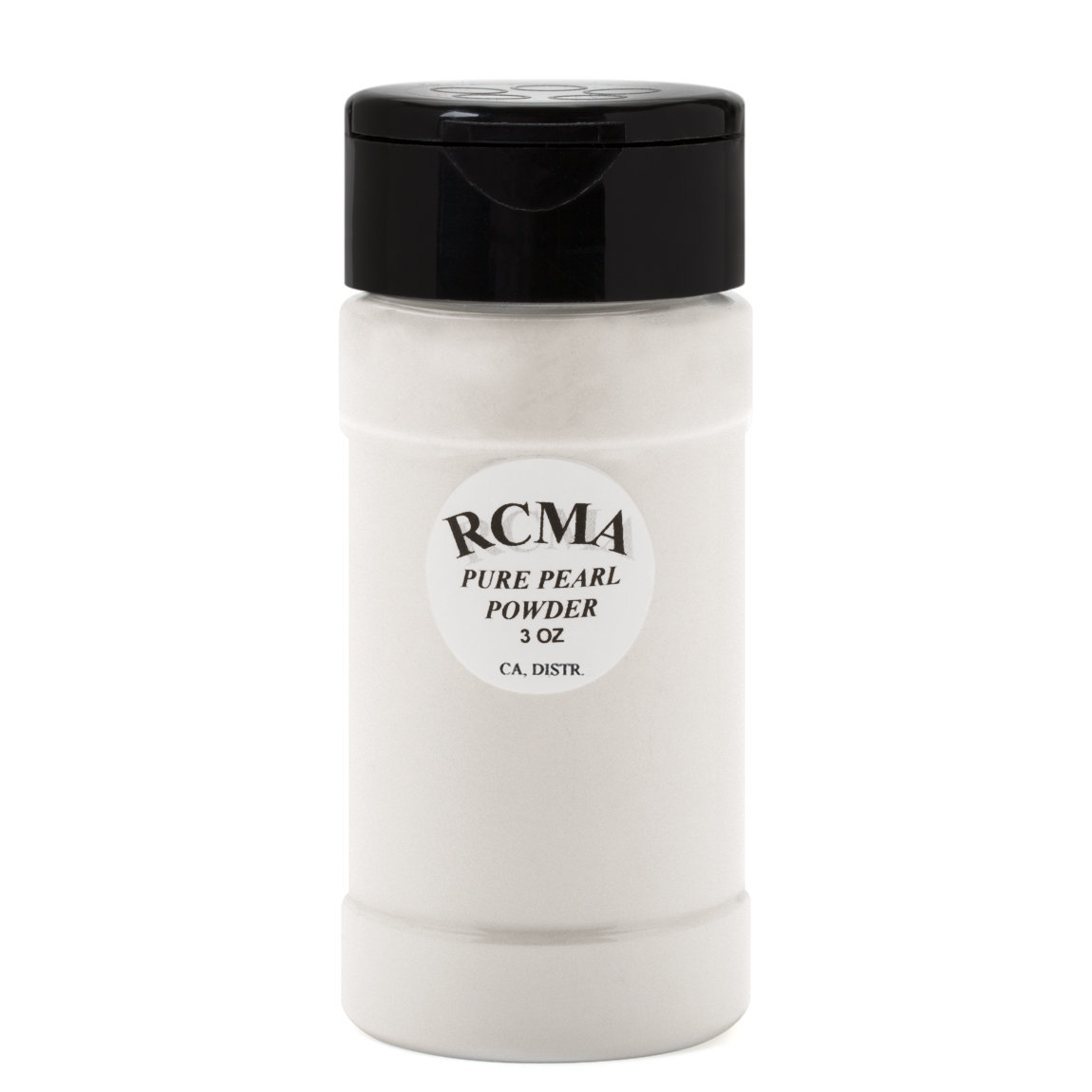 RCMA Makeup Pure Pearl Powder product smear.