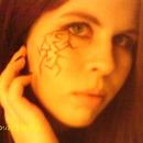 Living Dead Girl Eyeliner Tattoo