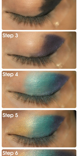 Pakistani eye makeup is identified by the bold and bright eye shadow colors used. The eye makeup is very dramatic and requires a thick kohl liner. Read More: http://www.stylecraze.com/articles/pakistani-eye-makeup/