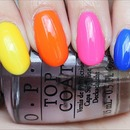 OPI Neon Revolution Mini Set (4 Colours)