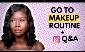 Go to MAKEUP routine & ANSWERING your SHADY questions | WandesWorld