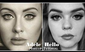 Adele - Hello Makeup Tutorial | NiamhTbh