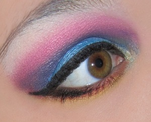 my eyes kept watering when doing this look. I actually ended up filling in my brows with purple shadow to finish look. http://www.bethysbeautyspot.com/Rock-Candy-Rainbow-25256464