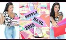 BACK TO SCHOOL SUPPLIES HAUL 2015! + GIVEAWAY! (OPEN)