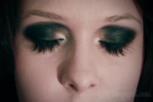 Lady Gaga / Dramatic Black & White MakeUp ♥