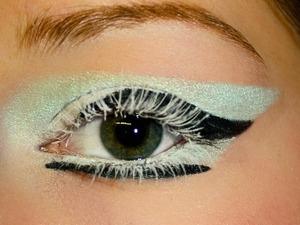 geometry/ice inspired eye