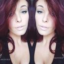 Natural makeup & bold wing💕💎