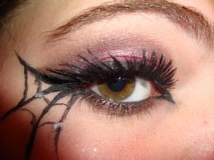Gothic Little Bo Peep Makeup
