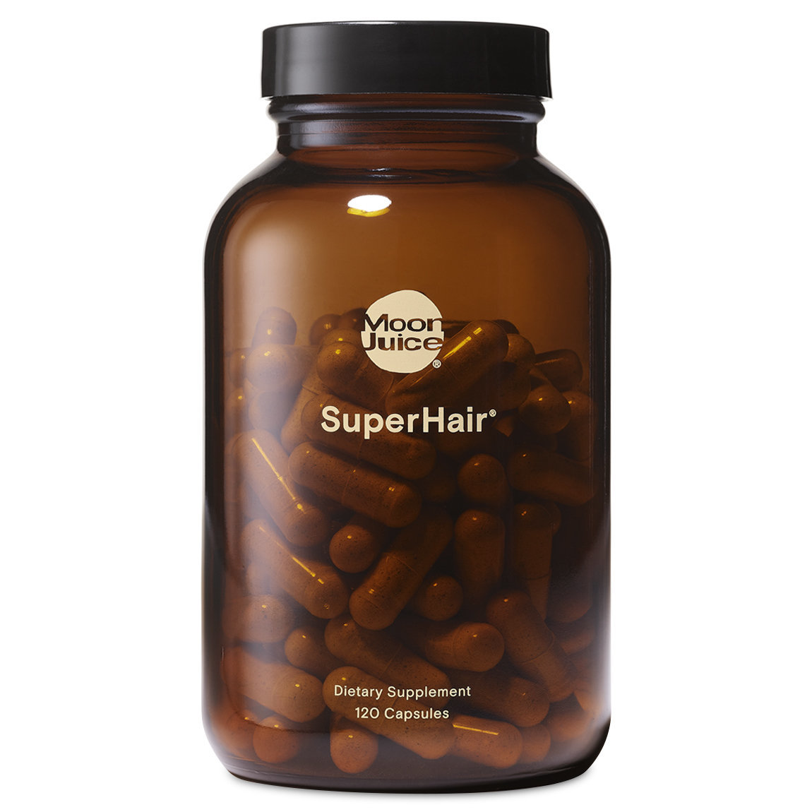 Moon Juice SuperHair 120 Capsules alternative view 1 - product swatch.