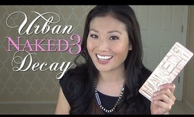 Urban Decay Naked 3 Palette - First Impressions & Review