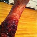 Burnt Zombie Halloween Skin