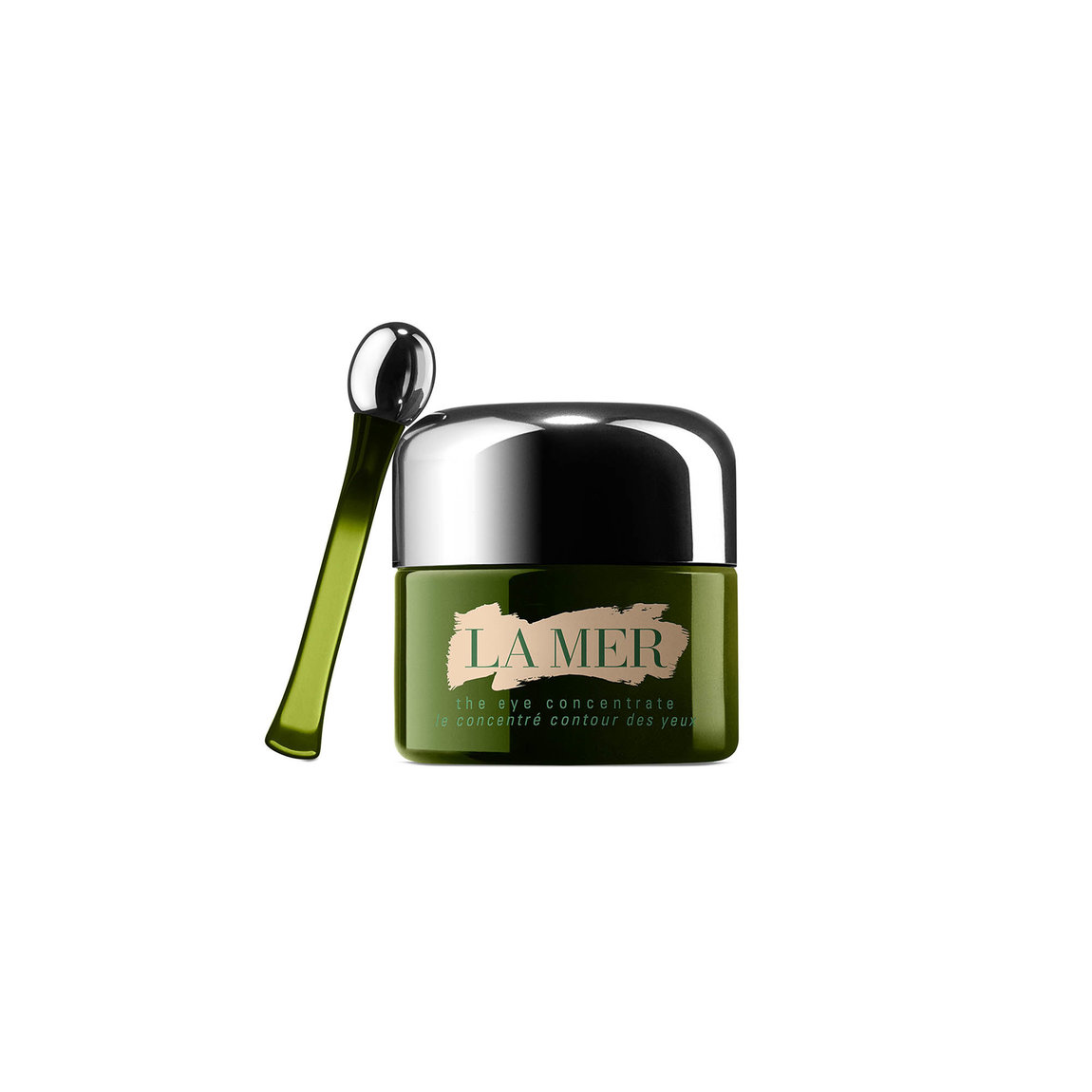 La Mer The Eye Concentrate product smear.