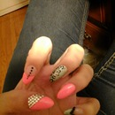 Nails I did!!! ? I love pointy nails!
