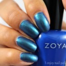 Zoya Sia & Sally Hansen Black and Blue