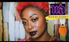 TUTORIAL: Urban Decay Naked Honey Palette with Dark Lips