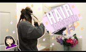VLOGMAS   HAIR TRANSFORMATION FAIL 🤦🏻♀️🙃 (p.s don't use this hair dye)