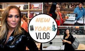 NYC VLOG: I MET JLO!