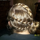 Braided Seashell Side Bun.