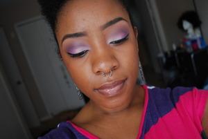 Light pink& Lilac eyes