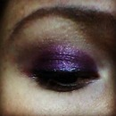 purple dim shimer