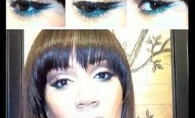 Modern Mod Inspired Eye Makeup Tutorial