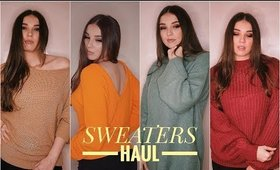 SWEATERS // JUMPERS TRY-ON HAUL