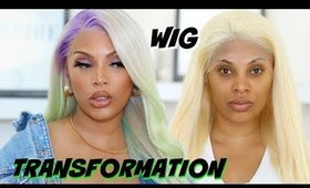 WATCH ME TRANSFORM THIS WIG  |  PASTEL COLORED WIG