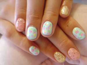 I love little girls, who love nails!