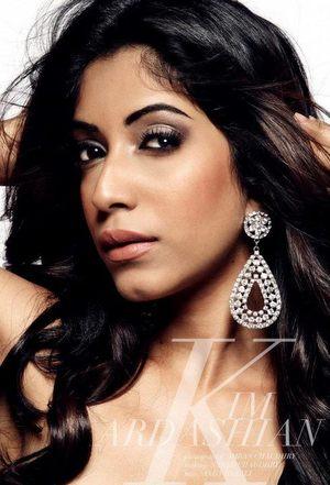 MAKEUP: Sarah Chaudhry Hair: Andy Model: Monisha Photographer: Imran Chaudhry