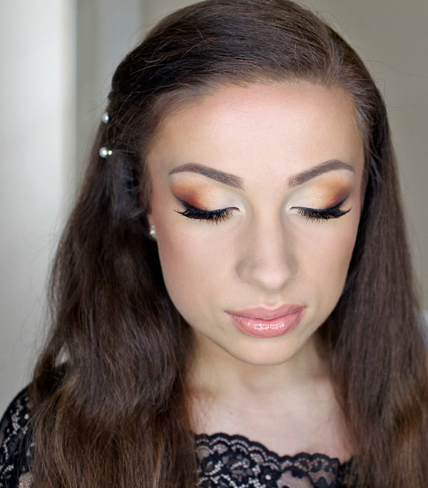 Prom Make Up For Blue Eyes | Catherine G.'s (katosu) Photo ...