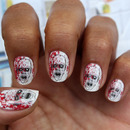 Zombie Nail Art Decals