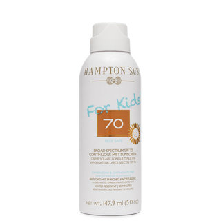 Hampton Sun SPF 70 Continuous Mist Sunscreen for Kids