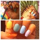 Pastel nails 💅