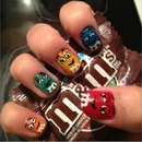m&ms nails