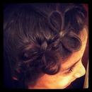 Bow tie braids