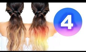 ★ 4 LAZY FALL HAIRSTYLES ★ EASY Girls HAIRSTYLES  💋 for Medium Long Hair